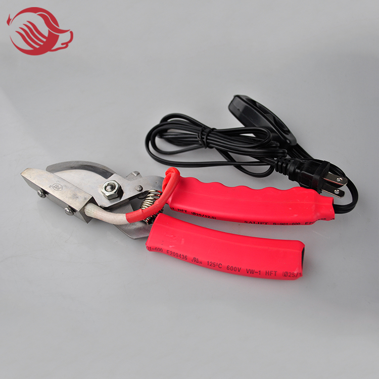 Electric pig tail cutter